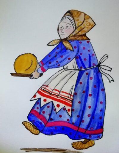 Babushka i kolobok