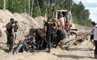 Khimki : un 14 juillet contre les petits soldats russes de Vinci – 2011