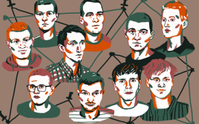 """L'affaire """"Réseau"""" en Russie : comment le Pouvoir russe fait la chasse aux anarchistes."""