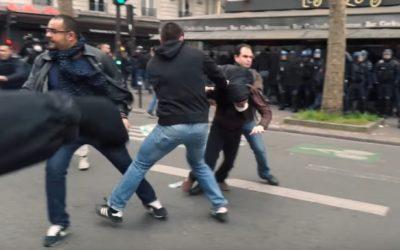 24 mars 2016 : Arrestation sur le boulevard Montparnasse, Paris.