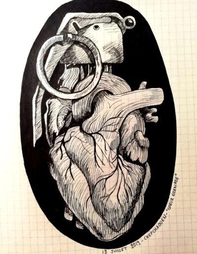 Coeur grenade