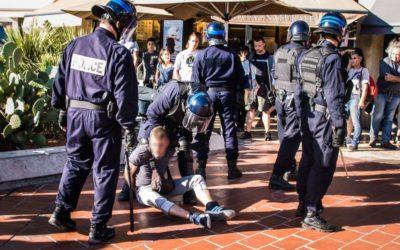 28 septembre 2019 : Arrestation devant le Polygone, Montpellier