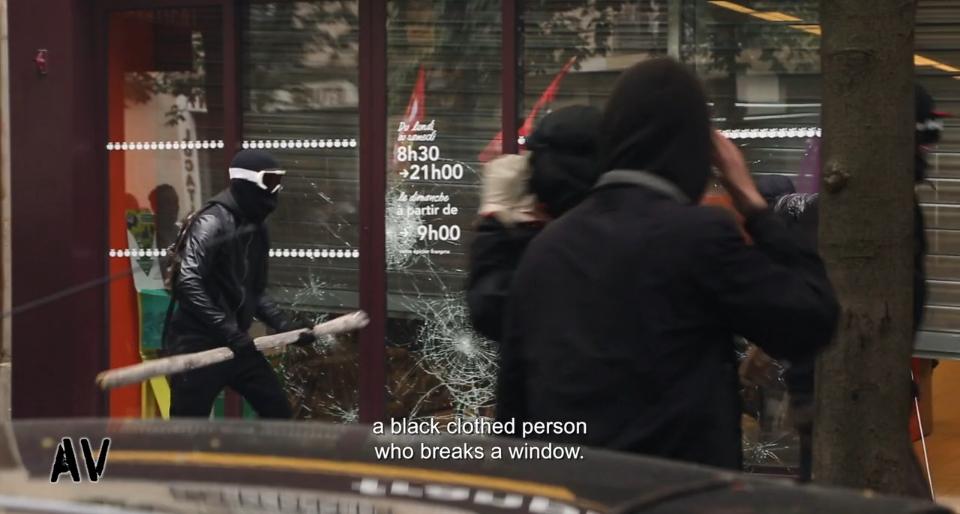 FILM – Alors c'est qui les casseurs ? – Actividéo, 2016