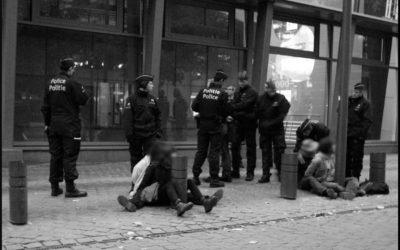 1er octobre 2010 : Arrestation durant le camp No borders, Bruxelles