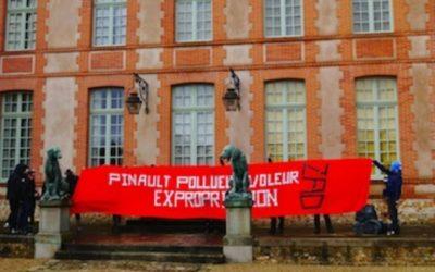 28 janvier 2013 : Arrestation à la sortie de la propriété du milliardaire Pinault, Grosrouvre.